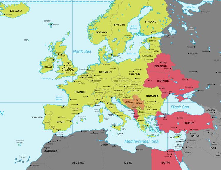 E-Card Gültigkeit in Europa