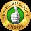 Bewertung über eKomi